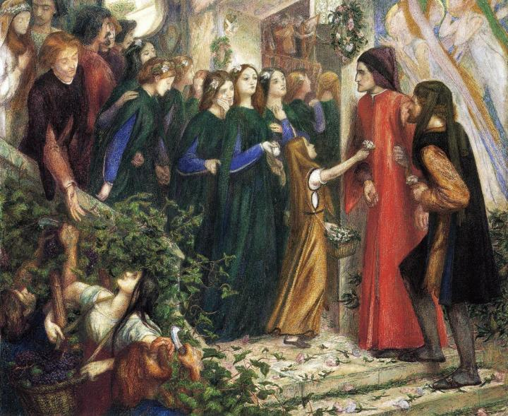 beatrice-meeting-dante-at-a-wedding-feast-denies-him-her-salutation-1855